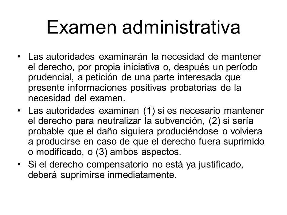 Examen administrativa