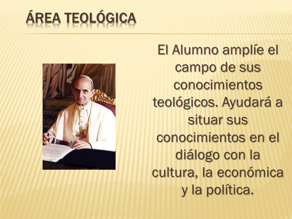Área Teológica