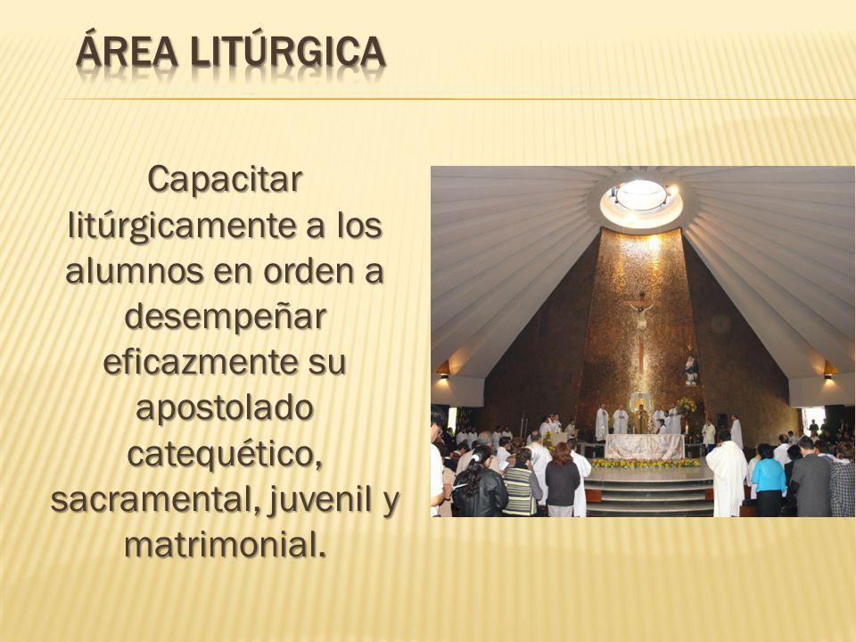 Área litúrgica