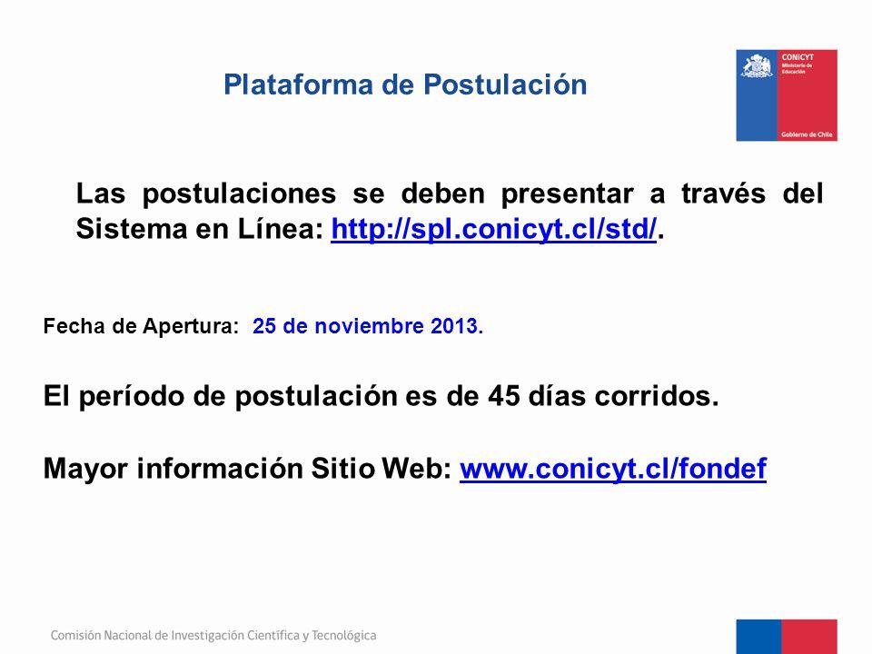 Plataforma de Postulación