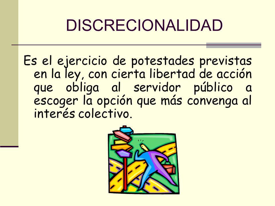 DISCRECIONALIDAD