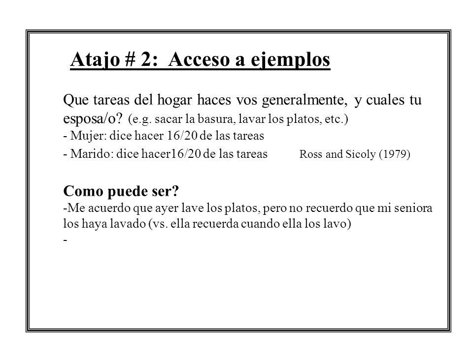 Atajo # 2: Acceso a ejemplos