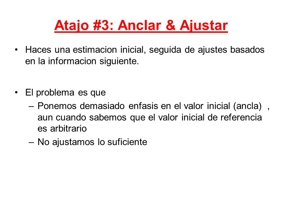 Atajo #3: Anclar & Ajustar