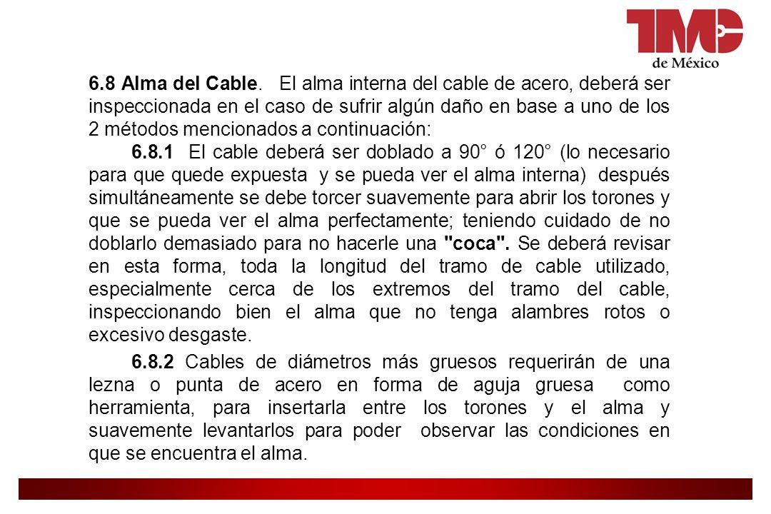 6.8 Alma del Cable.