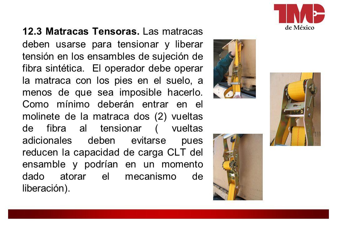 12.3 Matracas Tensoras.