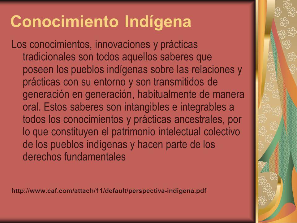 Conocimiento Indígena