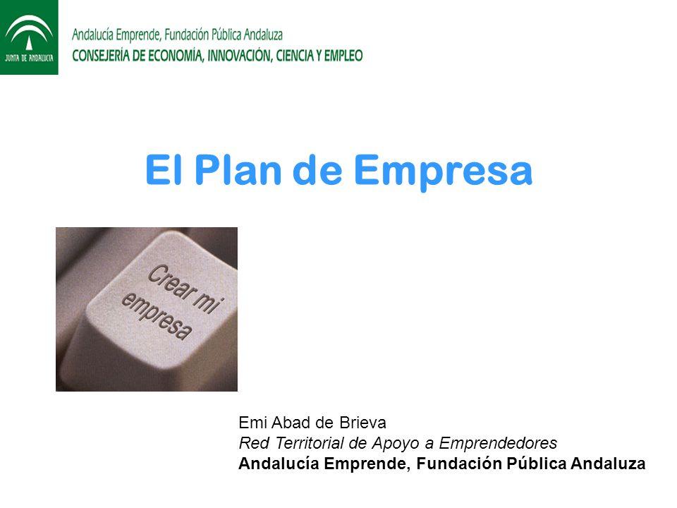 El Plan de Empresa Emi Abad de Brieva
