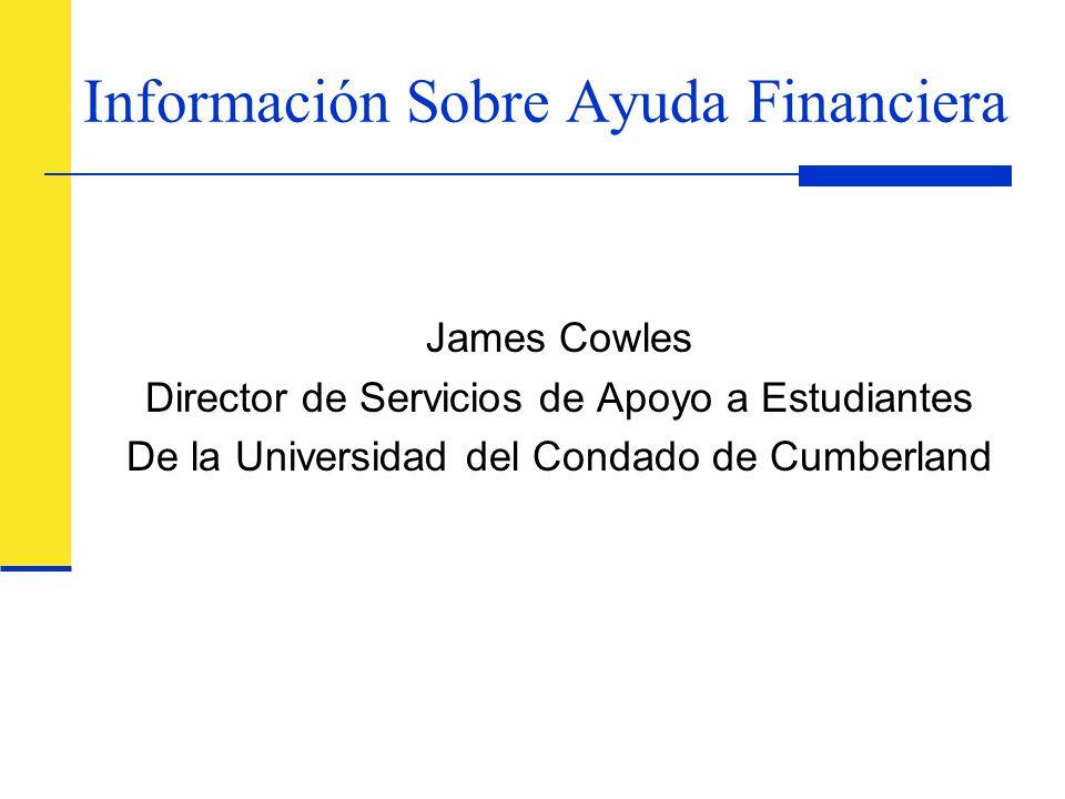 Información Sobre Ayuda Financiera