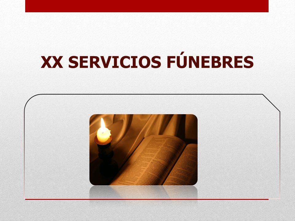 XX SERVICIOS FÚNEBRES