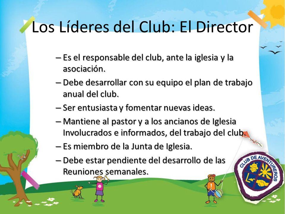 Los Líderes del Club: El Director