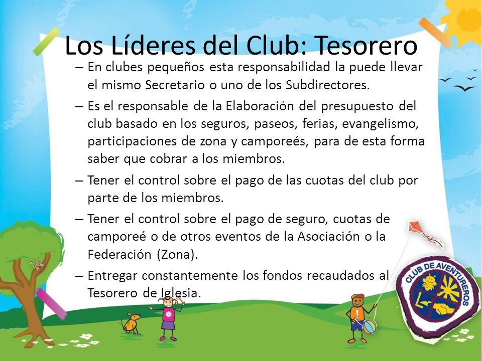 Los Líderes del Club: Tesorero