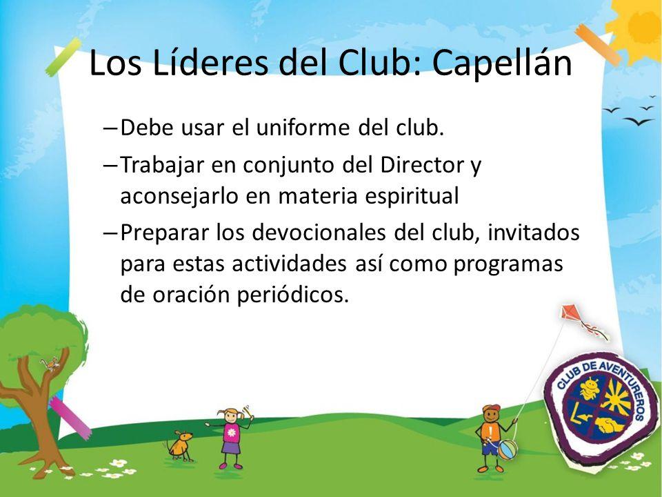 Los Líderes del Club: Capellán