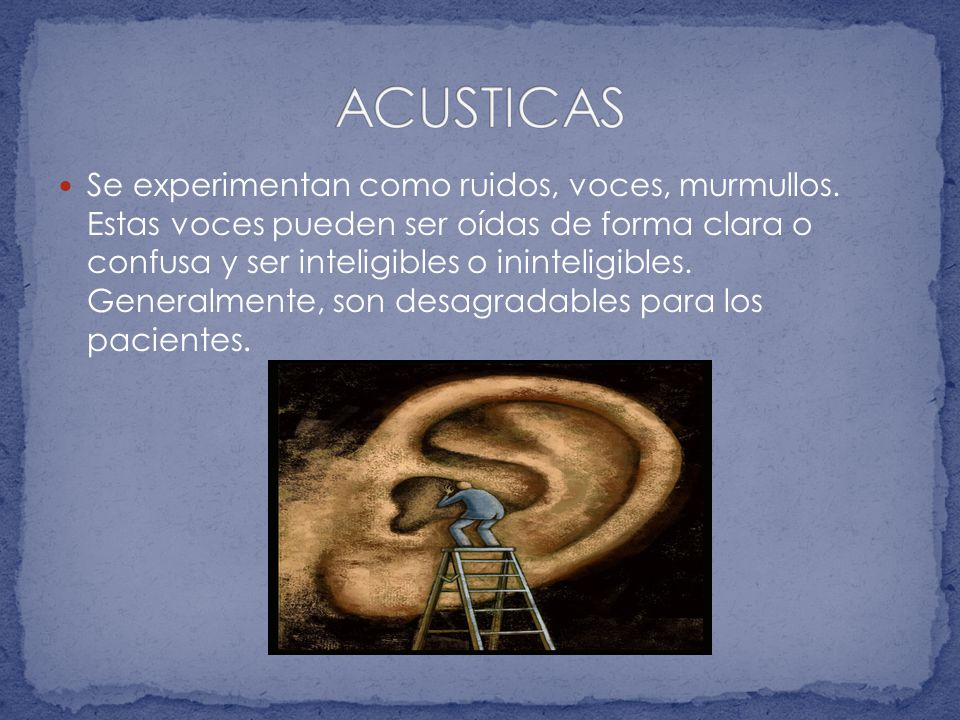 ACUSTICAS