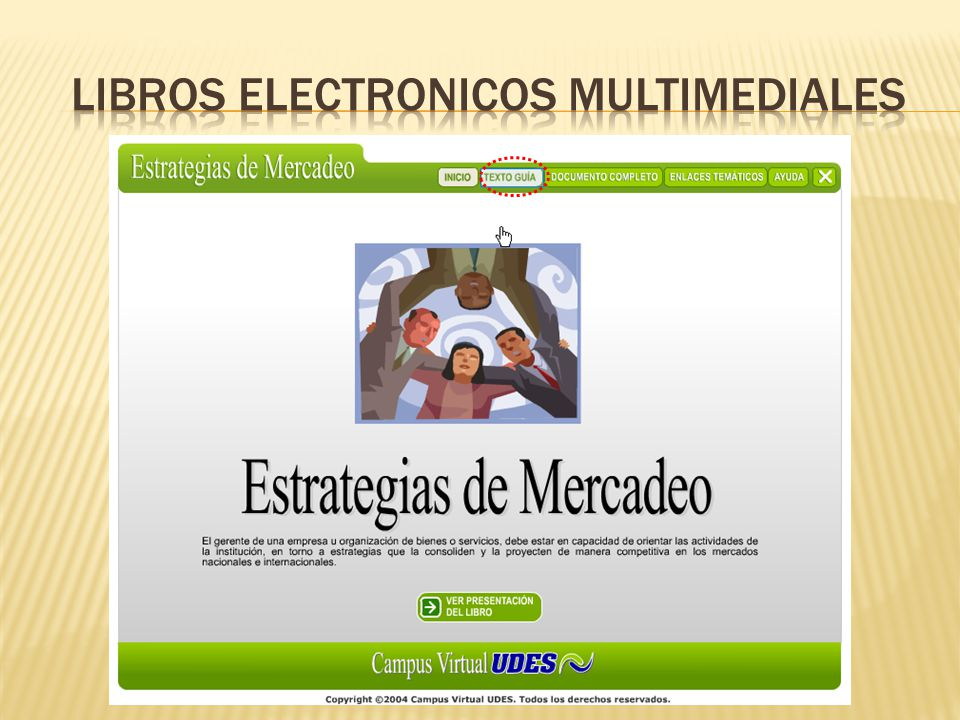 LIBROS ELECTRONICOS MULTIMEDIALES