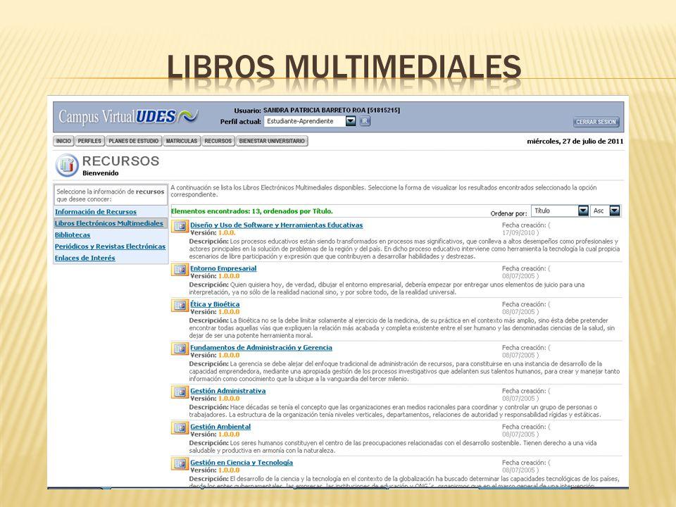 Libros multimediales