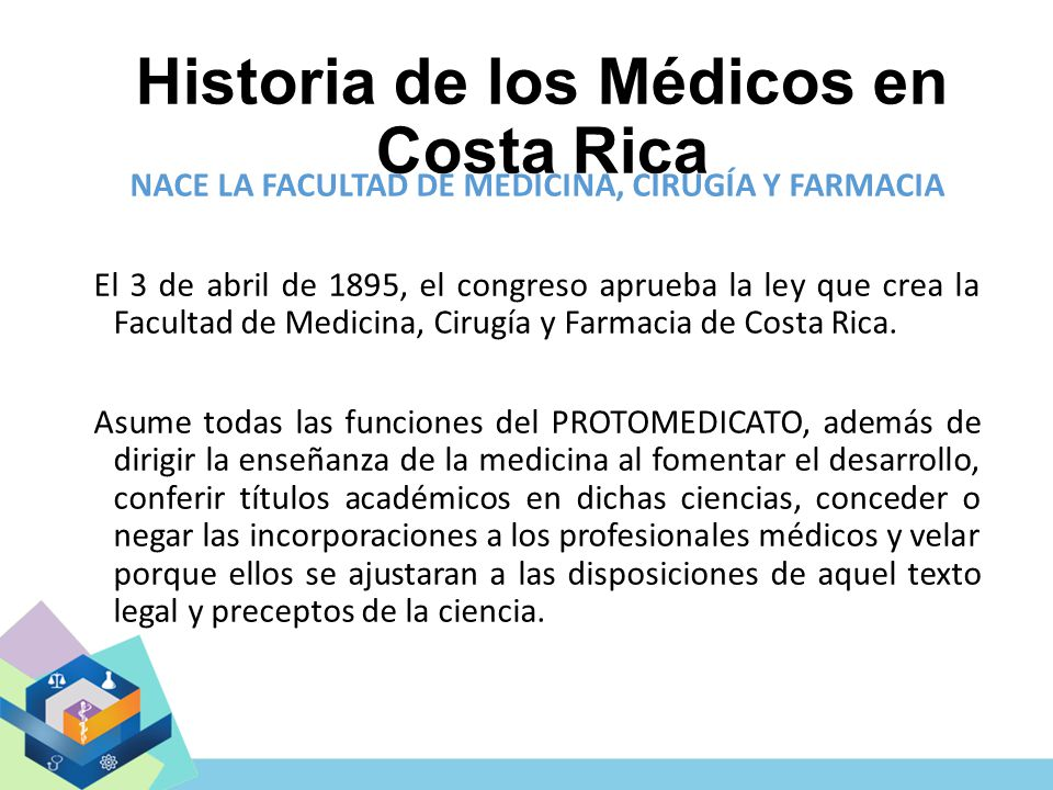 Historia de los Médicos en Costa Rica