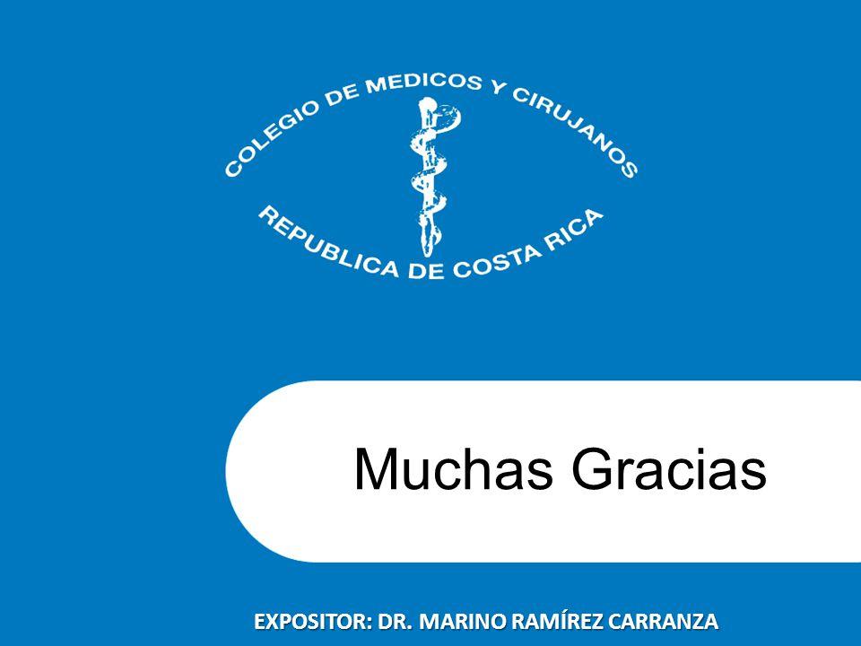 EXPOSITOR: DR. MARINO RAMÍREZ CARRANZA