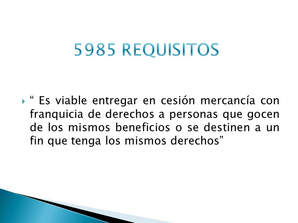 5985 REQUISITOS