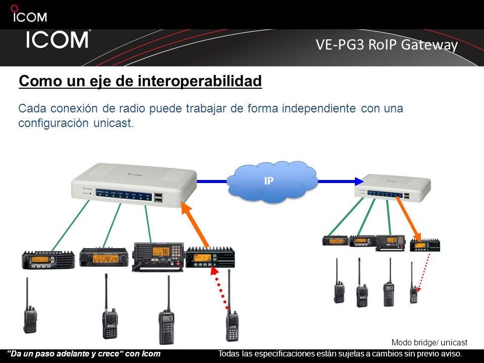 Como un eje de interoperabilidad