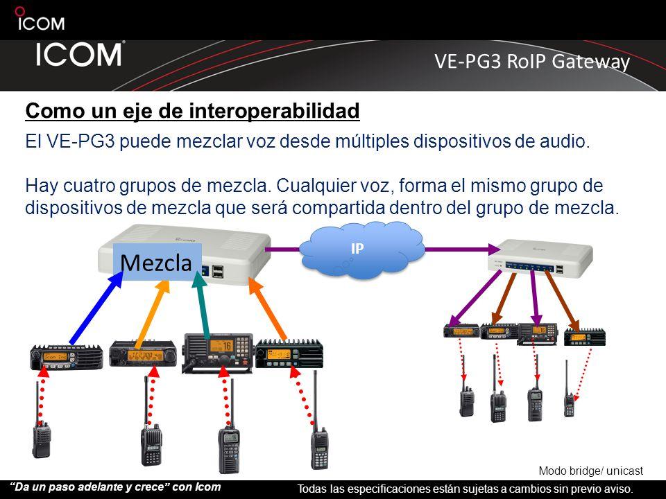 Mezcla Como un eje de interoperabilidad