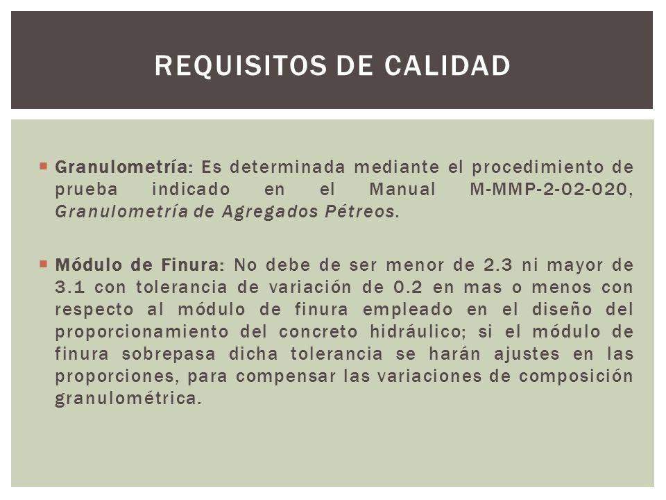 Requisitos de calidad