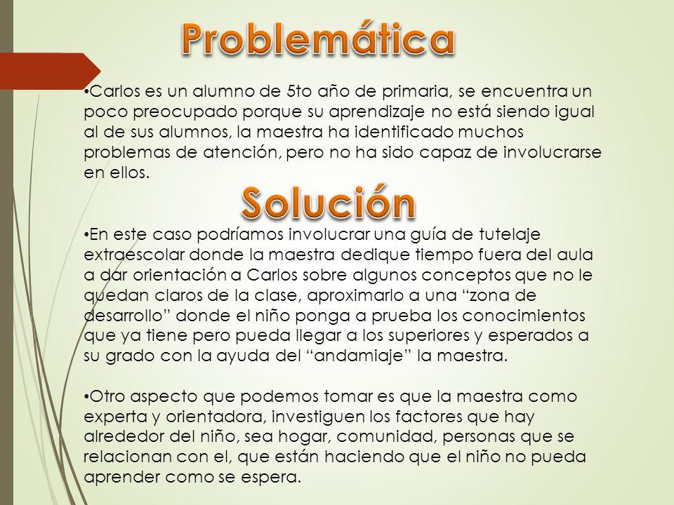 Problemática Solución