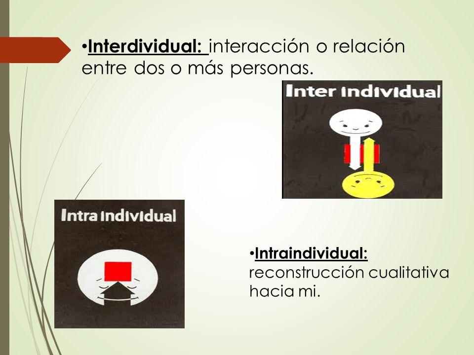 Interdividual: interacción o relación entre dos o más personas.