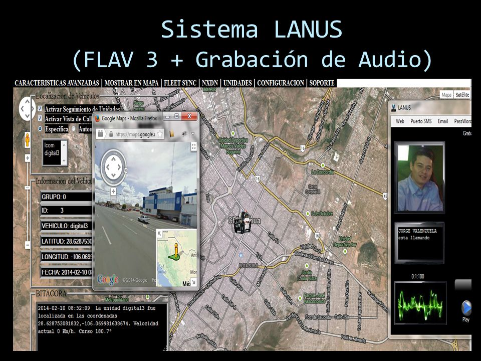 Sistema LANUS (FLAV 3 + Grabación de Audio)