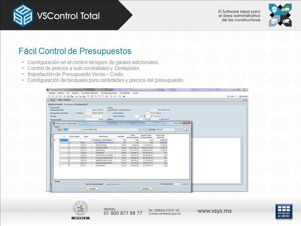 Fácil Control de Presupuestos