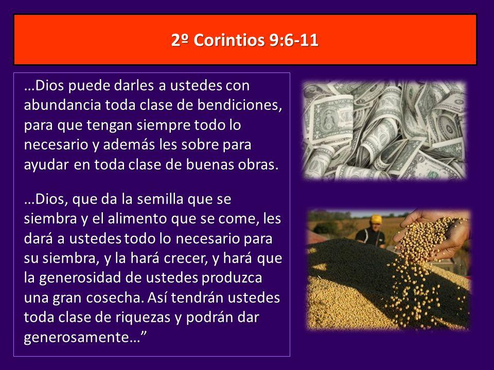 2º Corintios 9:6-11
