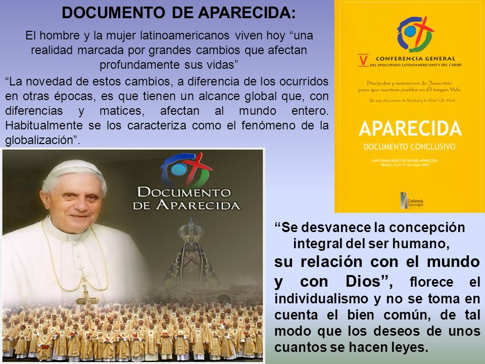 DOCUMENTO DE APARECIDA: