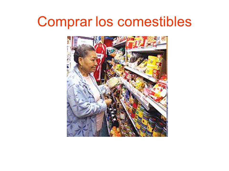 Comprar los comestibles