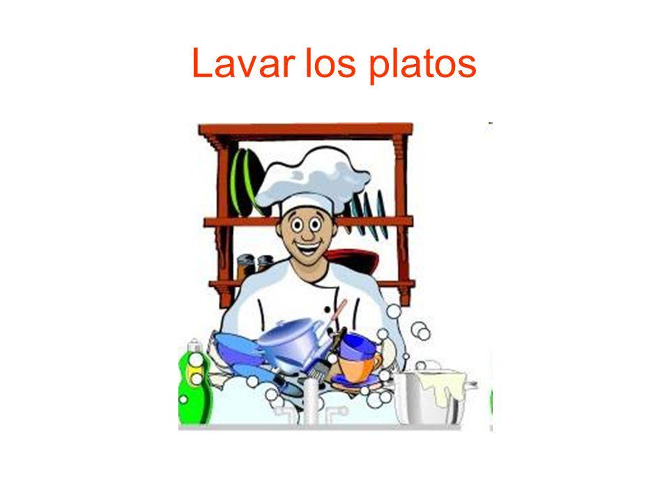 Lavar los platos