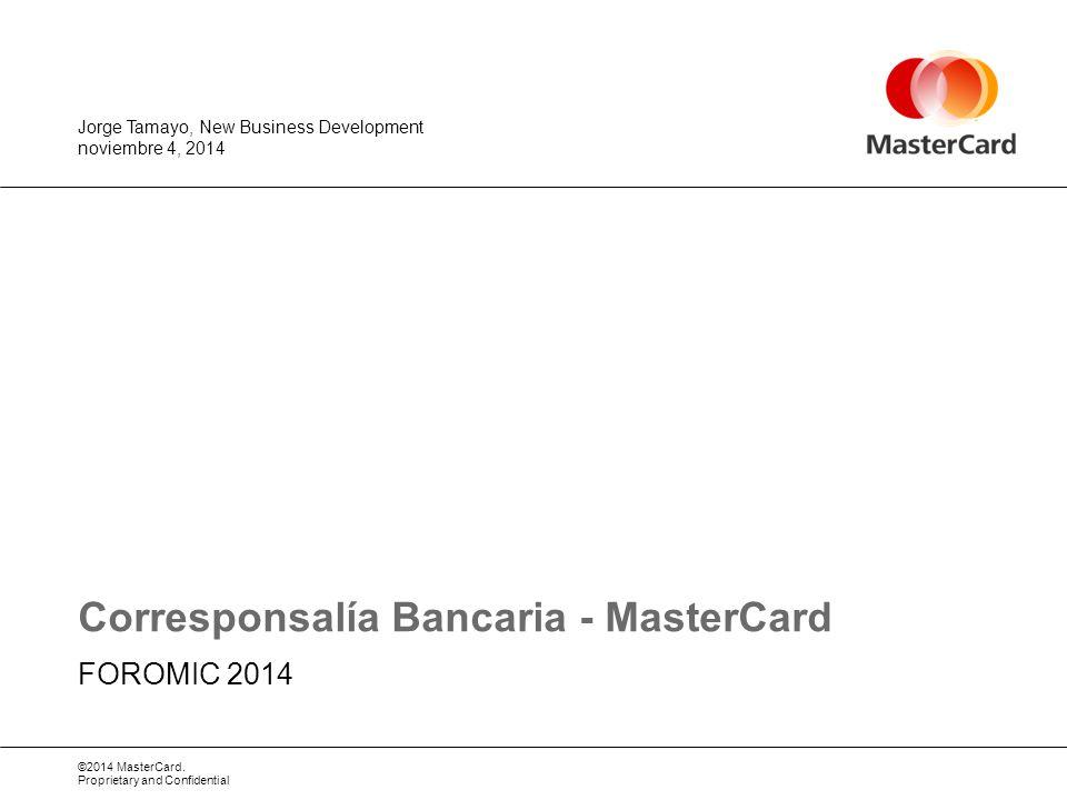 Corresponsalía Bancaria - MasterCard