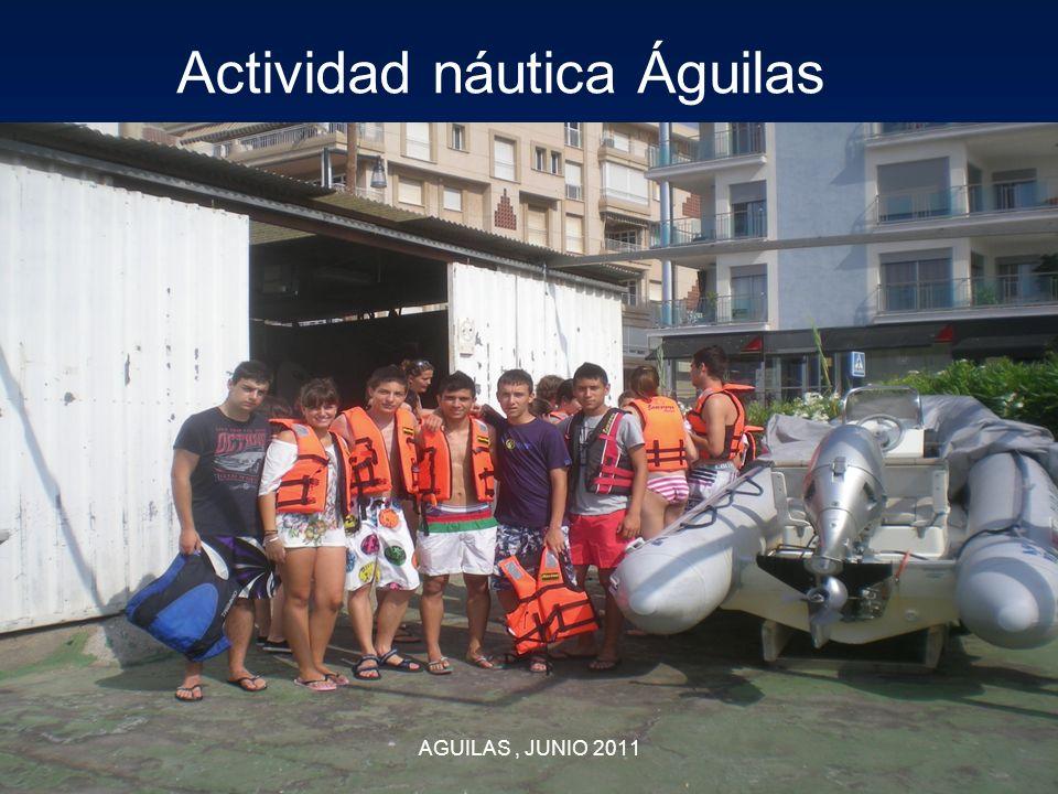 Actividad náutica Águilas