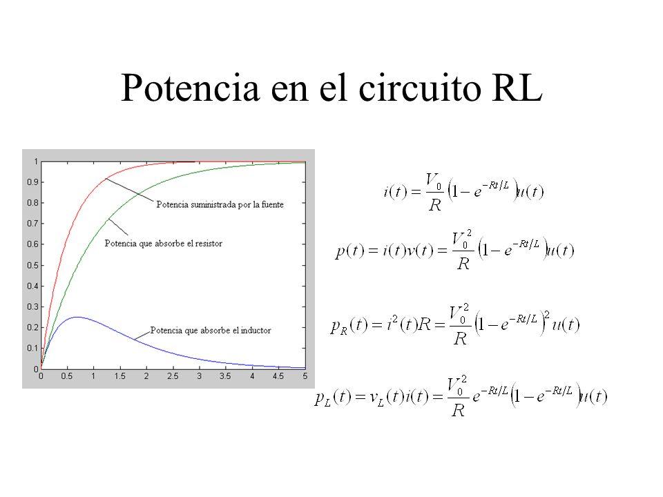 Potencia en el circuito RL