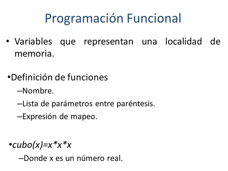 Programación Funcional