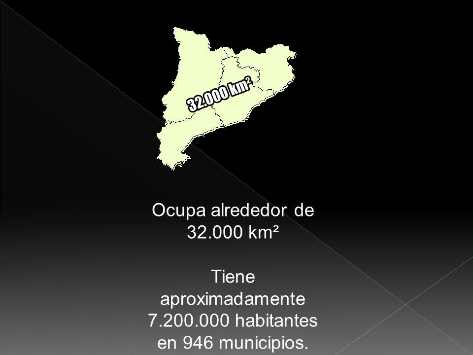 Tiene aproximadamente 7.200.000 habitantes en 946 municipios.