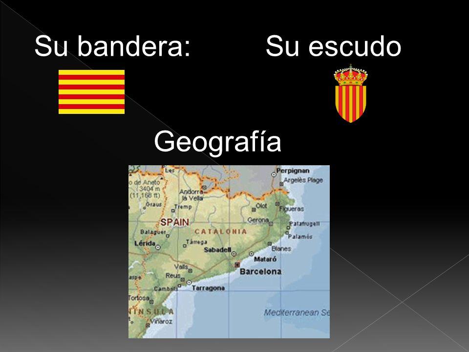 Su bandera: Su escudo Geografía