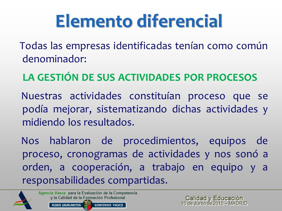 Elemento diferencial