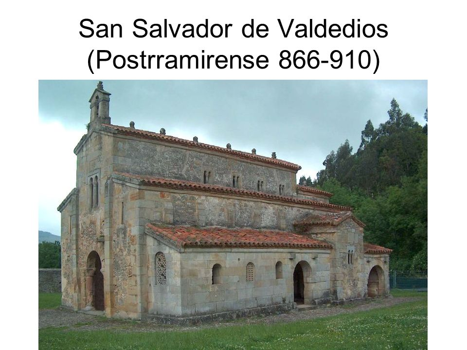 San Salvador de Valdedios (Postrramirense 866-910)