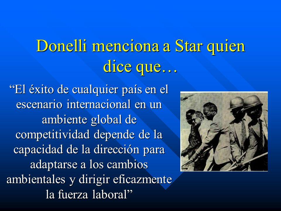 Donelli menciona a Star quien dice que…