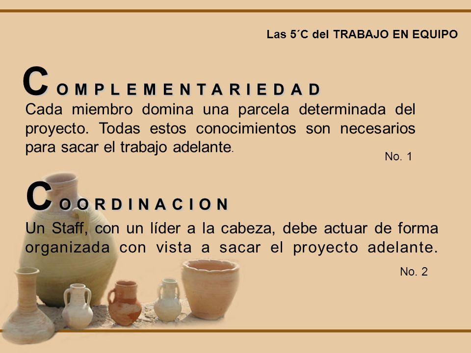 COMPLEMENTARIEDAD COORDINACION