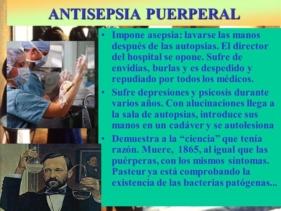 ANTISEPSIA PUERPERAL