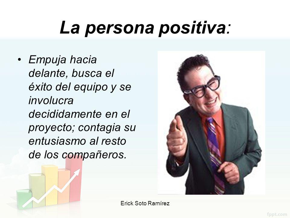 La persona positiva: