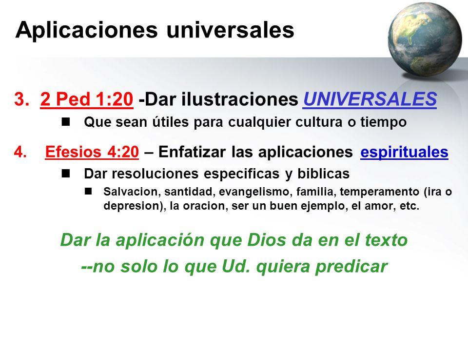 Aplicaciones universales