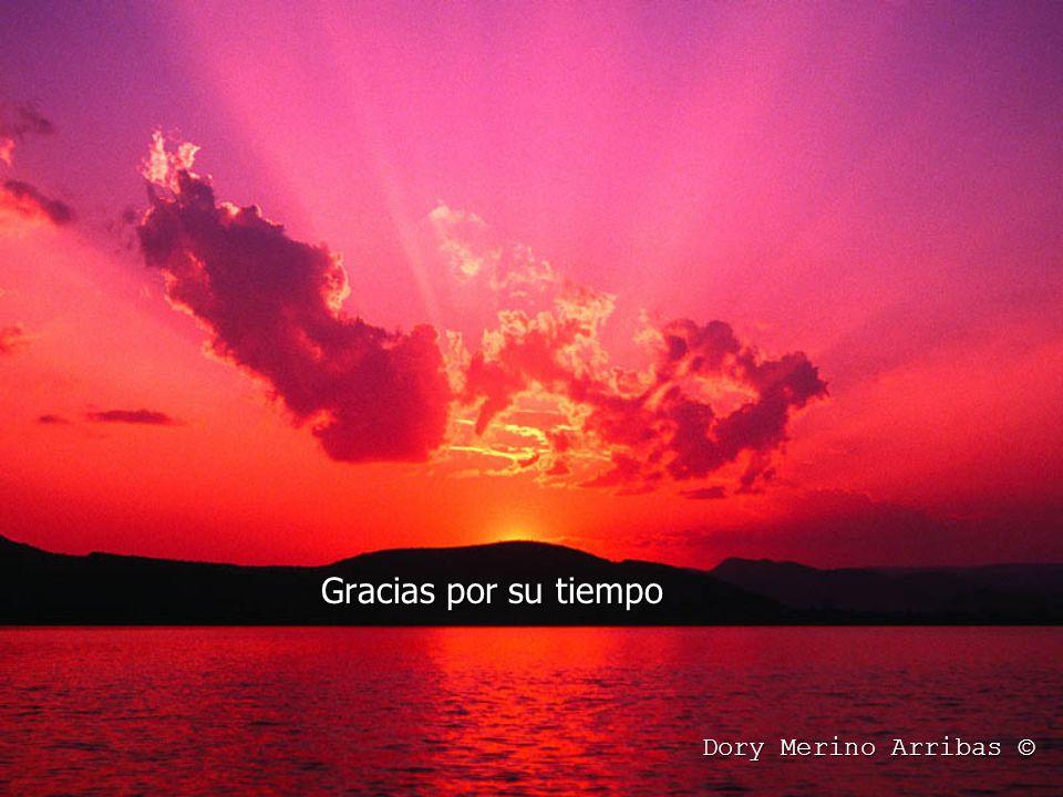 Gracias por su tiempo Dory Merino Arribas ©