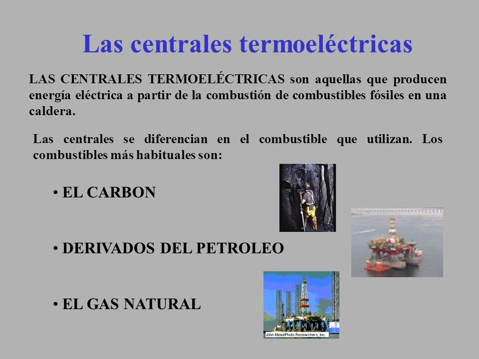 Las centrales termoeléctricas