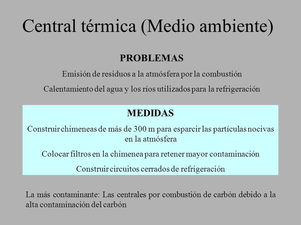 Central térmica (Medio ambiente)