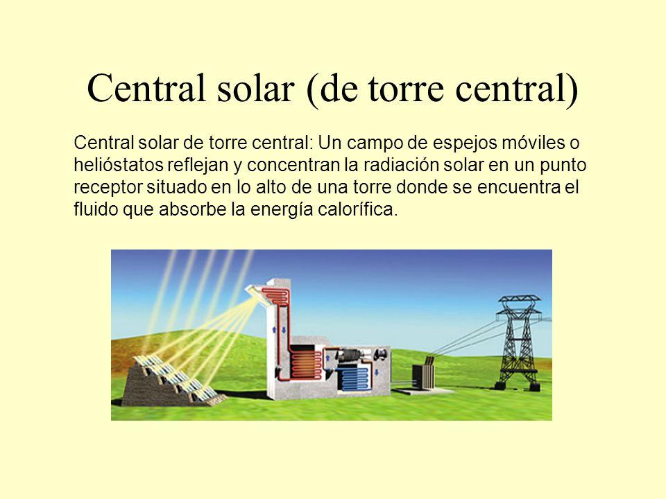 Central solar (de torre central)